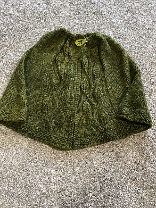 LEAVES OF GRASS CAPELET