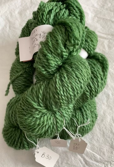 BULKY WEIGHT YARN-GREEN