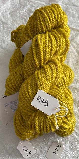 RUG YARN-YELLOW GOLD