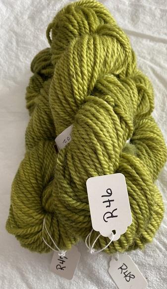 RUG YARN-GREEN YELLOW
