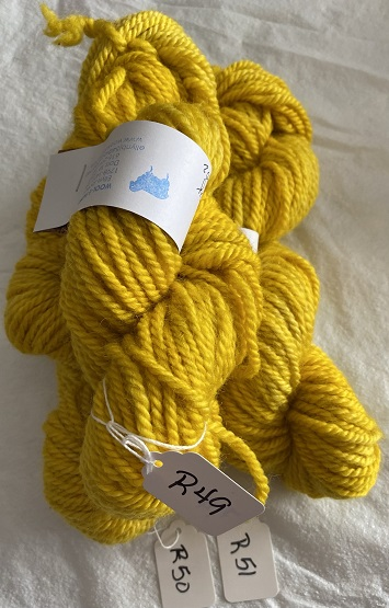 BULKY WEIGHT YARN-YELLOW